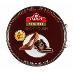 Buwi brązowa pasta do butów puszka 40 ml