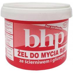 Żel do mycia rąk BHP ze ścierniwem i gliceryną