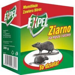 EXPEL Ziarno na myszy i szczury 300g
