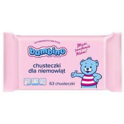 Bambino Chusteczki dla niemowląt 63 szt.