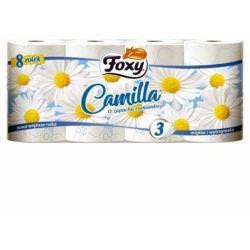 Foxy Camilla papier toaletowy o zapachu rumianku 8 szt