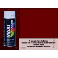 Farba SPRAY 3004 CZERWONY PURPUROWY maxi color MOTIP 400ML