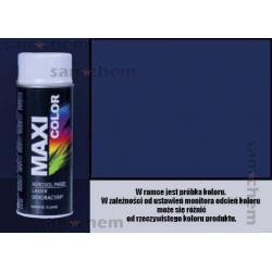 Farba SPRAY 5022 NIEBIESKI CIEMNY maxi color MOTIP 400ML