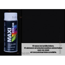 SPRAY 9005 CZARNY MATOWY Maxi color MOTIP 400ML