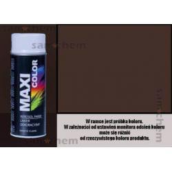 Farba SPRAY 8017 BRĄZOWY MATOWY MOTIP 400ML