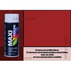 Farba SPRAY 3002 CZERWONY KARMINOWY maxi color MOTIP 400ML