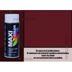 Farba SPRAY 3005 WINNO CZERWONY maxi color MOTIP 400ML