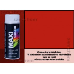 Farba SPRAY 3020 CZERWONY maxi color MOTIP 400ML