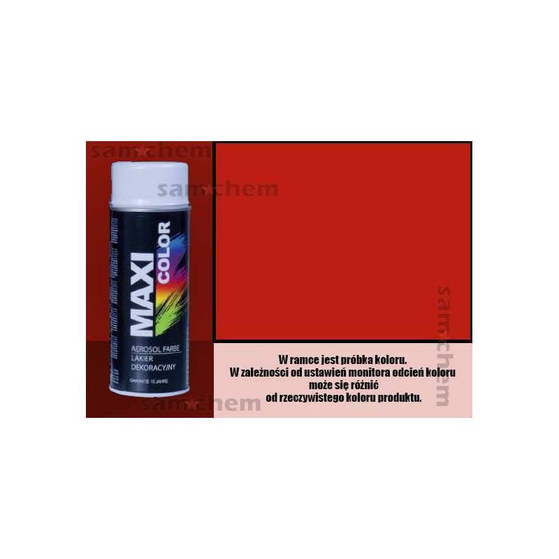 Farba SPRAY 3020 CZERWONY maxi color MOTIP 400ML