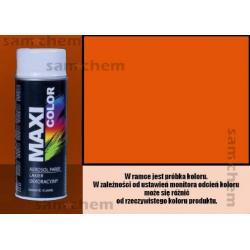 Farba SPRAY 2004 POMARAŃCZOWY maxi color MOTIP 400ML