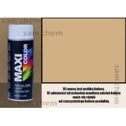Farba SPRAY 1001 BEŻOWY maxi color MOTIP 400ML