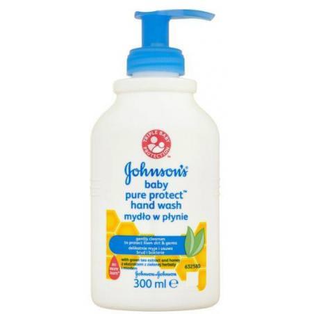 Johnson's Baby Pure mydło w płynie 300ml