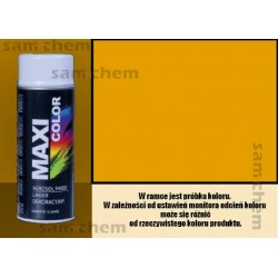 Farba SPRAY 1004 ŻÓŁTY maxi color MOTIP 400ML