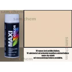 Farba SPRAY 1015 KREMOWY maxi color MOTIP 400ML