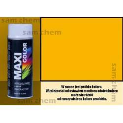 Farba SPRAY 1021 ŻÓŁTY maxi color MOTIP 400ML