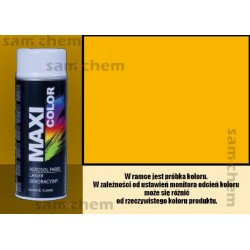 Farba SPRAY 1023 ŻÓŁTY maxi color MOTIP 400ML